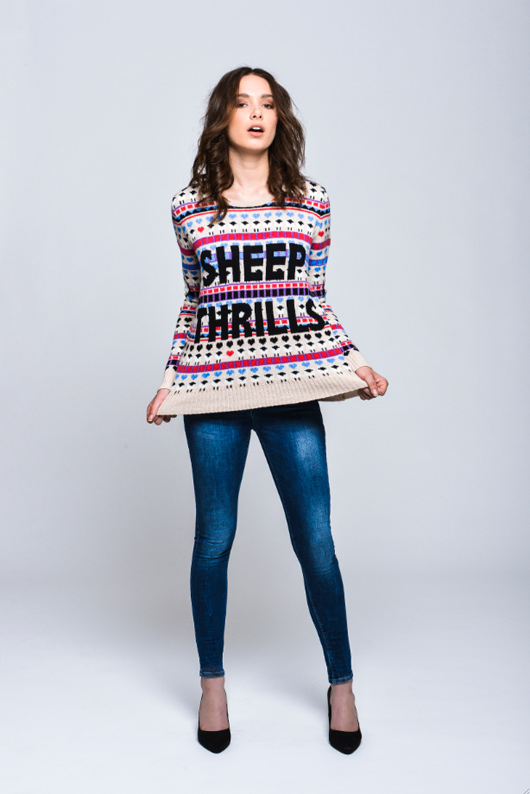 Henrietta Jerram at Topshop for The Campaign For Wool
